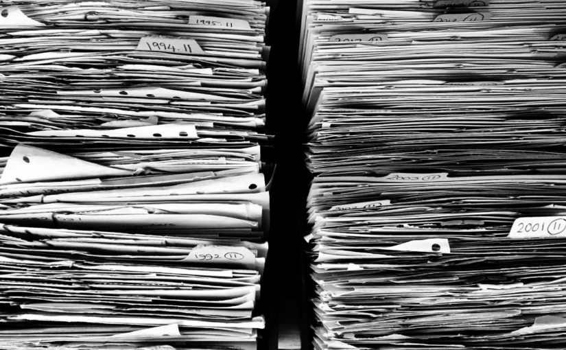 Paper File Organization for 2020: Understanding What Documents to Purge or Keep
