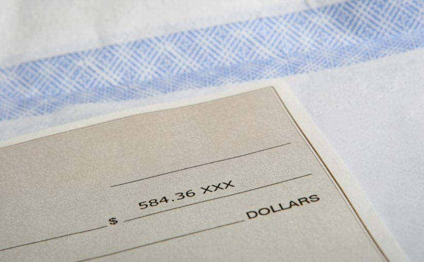 what to do with checks after mobile deposits